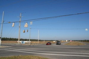 Developers of a proposed large-scale entertainment facility have purchase more than 500 acres of property located on the northwest side of the intersection of the Foley Beach Express and Baldwin County 20 in Foley, Ala. (Marc D. Anderson/manderson@al.com).
